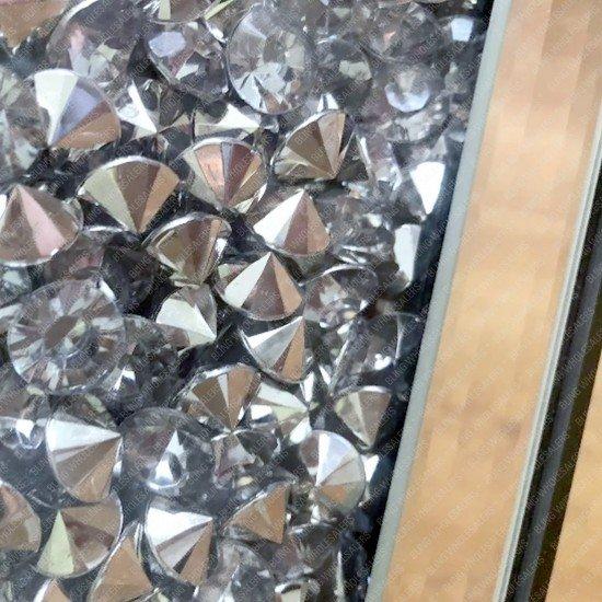 Nova Crushed Diamond Tier-2 Coffee Table