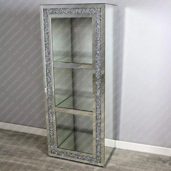 Ella Crushed Diamond Display/Shelf Unit