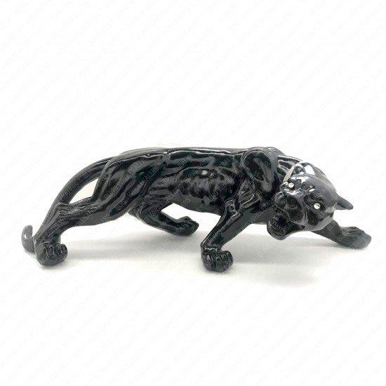 Myra Extra Large Ceramic Roaring Panther - 106cm