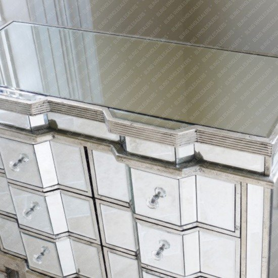 Nomi Mirrored Chest of Drawers