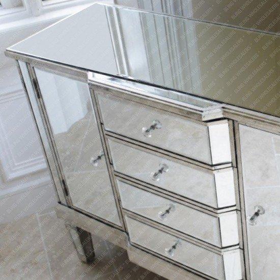 Nomi Mirrorred Sideboard
