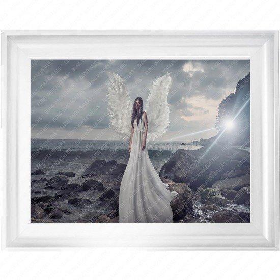 Tove Angel By Sea Frame