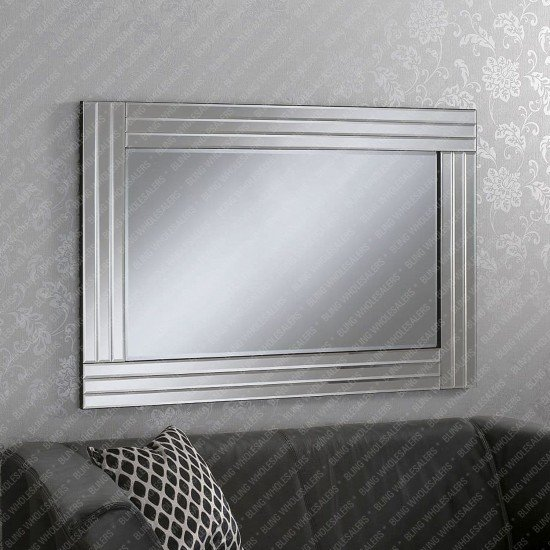 Venus Classic Triple Offset Bevelled Mirror